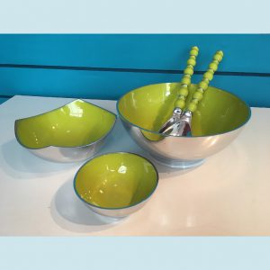 Lime Recycled Aluminium Salad Range